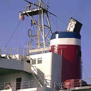Photo cheminée navire American Légend